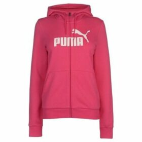 Puma  No1 Logo Hoodie Ladies  women's Sweatshirt in Pink