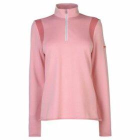 Slazenger  Zip Pullover Ladies  women's Sweater in Pink