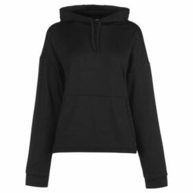Usa Pro  Slouch Hoodie Ladies  women's Sweatshirt in Black