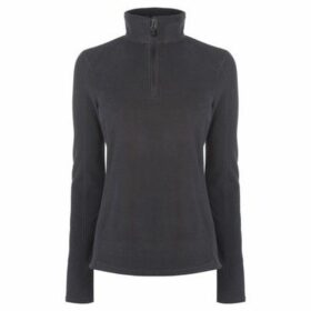 Eastern Mountain Sports  Fleece quarter Zip Jumper  women's Fleece jacket in Grey
