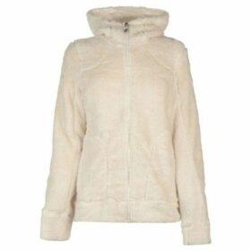 Gelert  Yukon Fleece Hoodie Ladies  women's Fleece jacket in White