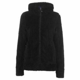 Gelert  Yukon Fleece Hoodie Ladies  women's Fleece jacket in Black