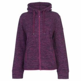 Gelert  Two Tone Fleece Top Ladies  women's Fleece jacket in Purple
