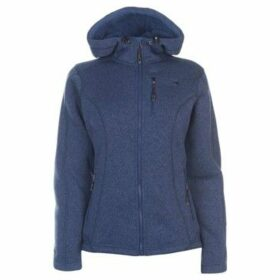 Karrimor  Long Sleeve Hoodie Ladies  women's Fleece jacket in Blue
