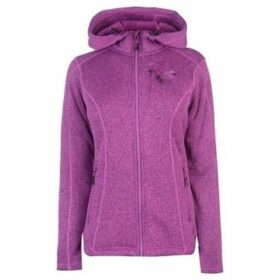 Karrimor  Long Sleeve Hoodie Ladies  women's Fleece jacket in Purple