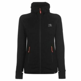 Karrimor  Grid Full Zip Hoodie Ladies  women's Fleece jacket in Black