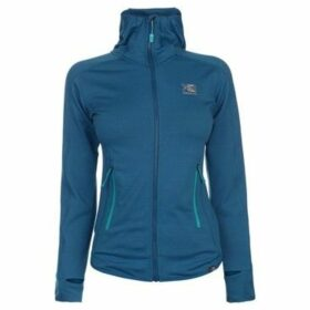 Karrimor  Grid Full Zip Hoodie Ladies  women's Fleece jacket in Blue