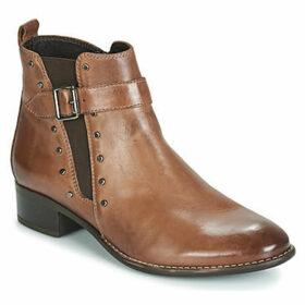 Elue par nous  FELIZE  women's Mid Boots in Brown