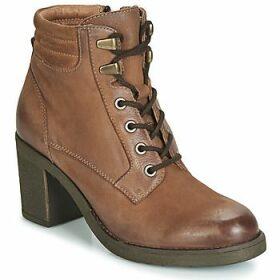 Elue par nous  FEMUR  women's Low Ankle Boots in Brown