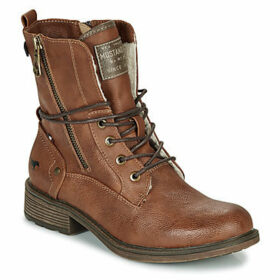Mustang  1264604-301  women's Mid Boots in Brown