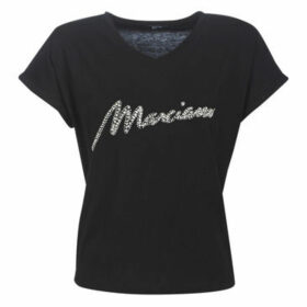 Marciano  CRYSTAL  women's T shirt in Black