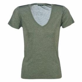 Ikks  BP10445-56  women's T shirt in Kaki