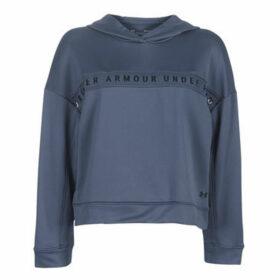 Under Armour  TECH TERRY HOODY  women's Sweatshirt in Blue