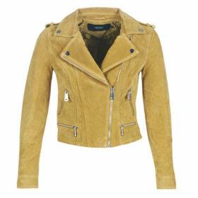 Vero Moda  VMROYCE  women's Leather jacket in Yellow