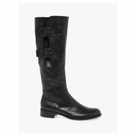 Gabor Kingdom Kingdom Leather Calf Boots, Black