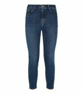 Petite Blue 'Lift & Shape' Skinny Jeans New Look