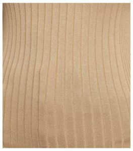 Camel Ribbed Crew Neck Jumper New Look
