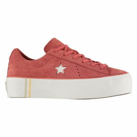 Converse Lifestyle One Star Platform Trainers