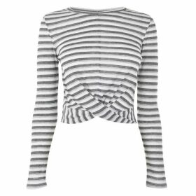 JDY Long Sleeve Top - Multi Stripe