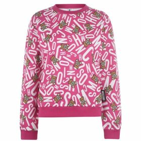Moschino Bear Print Underwear Sweatshirt