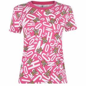 Moschino Teddy Print Underwear T Shirt