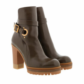 Chloé Boots & Booties - Heeled Ankle Boots Brown - brown - Boots & Booties for ladies