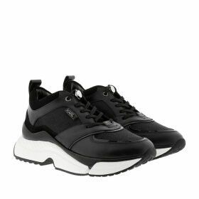 Karl Lagerfeld Sneakers - Aventur Lux Mix Lace Shoes Black/White - black - Sneakers for ladies