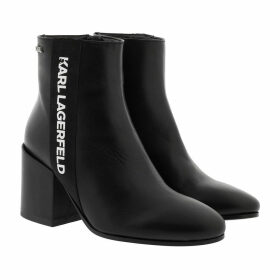 Karl Lagerfeld Boots & Booties - Lavinia Karl Band Midi Boot Black Leather - black - Boots & Booties for ladies