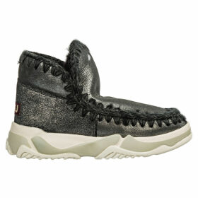 Mou Leather Ankle Boots Booties Eskimo Trainer
