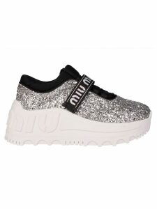 Miu Miu Glittered Sneakers