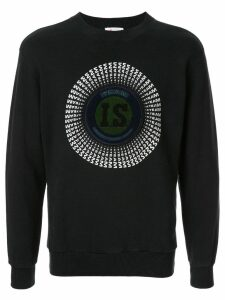 Issey Miyake Pre-Owned 1980's Sports Line logo patch sweatshirt -
