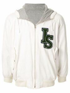 Issey Miyake Pre-Owned 1980's Sports Line logo reversible hoodie -