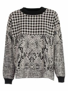 TwinSet Sweater Lurex Jacquard