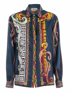 Versace Collection Shirt L/s Silk Comics Fantasy