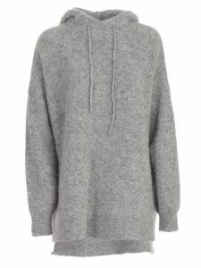 Ganni Sweatshirt W/hood