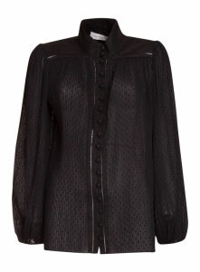Zimmermann Espionage Plisse Blouse