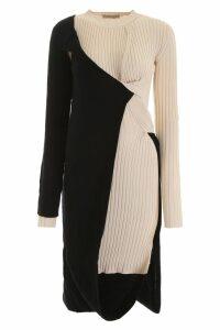 Bottega Veneta Bicolor Knit Dress