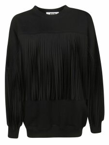 MSGM Fringed Detail Sweater