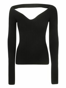 N.21 V-neck Long-sleeved Top
