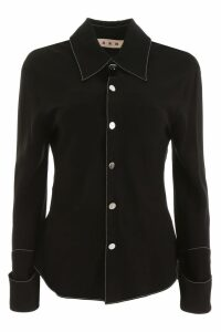 Marni Envers Satin Shirt
