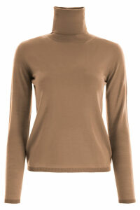 Max Mara Virgin Wool Turtleneck