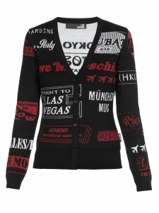 Love Moschino Cardigan With Lettering