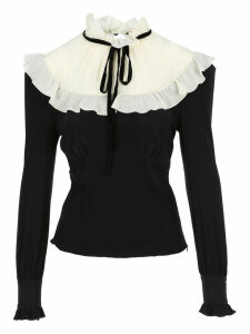 Alessandra Rich Ruffled Blouse