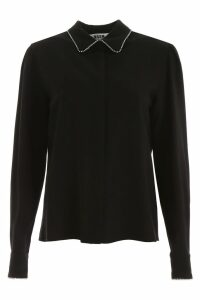 MSGM Crystal-embellished Shirt