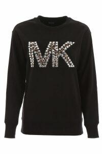 Michael Kors Studded Logo Sweatshirt