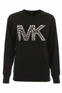 MICHAEL Michael Kors Studded Logo Sweatshirt