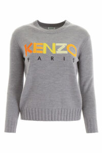 Kenzo Logo Patch Pullover