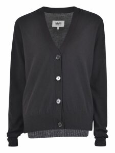 MM6 Maison Margiela Black Cardigan