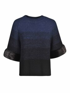 Fendi Fading Ribs Pullover