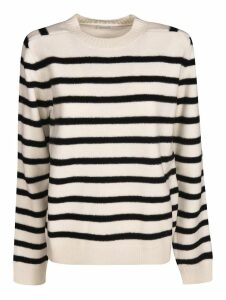 Saint Laurent Striped Knit Sweater